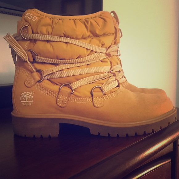 7573dc834e Timberland Shoes | Womens 650 Lace Up Boots | Poshmark